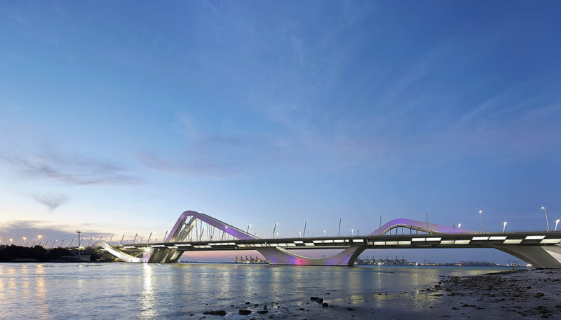 Sheikh Zayed Bridge – Zaha Hadid Architects