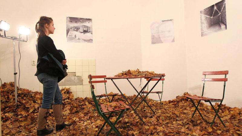 Mladí architekti proměnili POKOJE ve střelnici a naplnili je podzimním listím