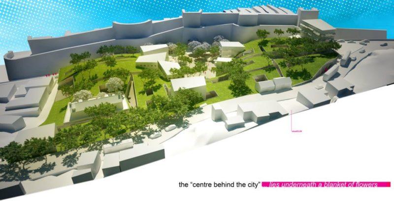 Projekt pro Dubrovnik v ramci souteze Europan 11
