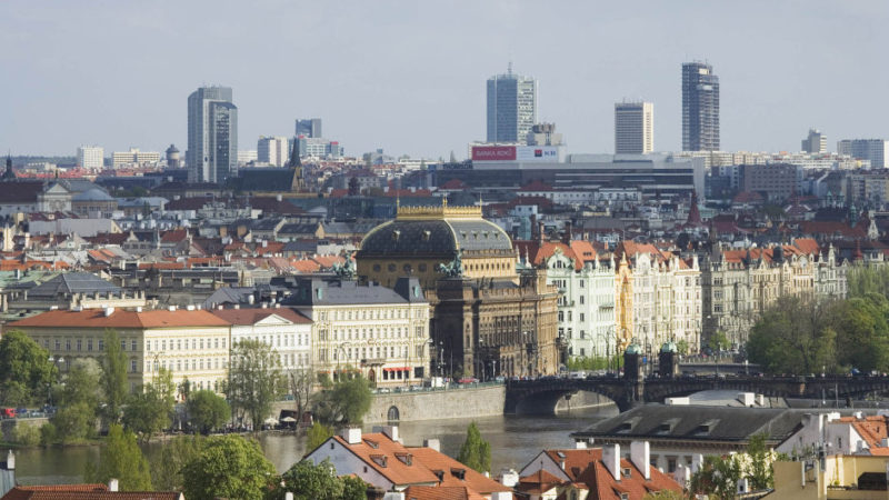 Prague, as a developing city, needs high-rise buildings.