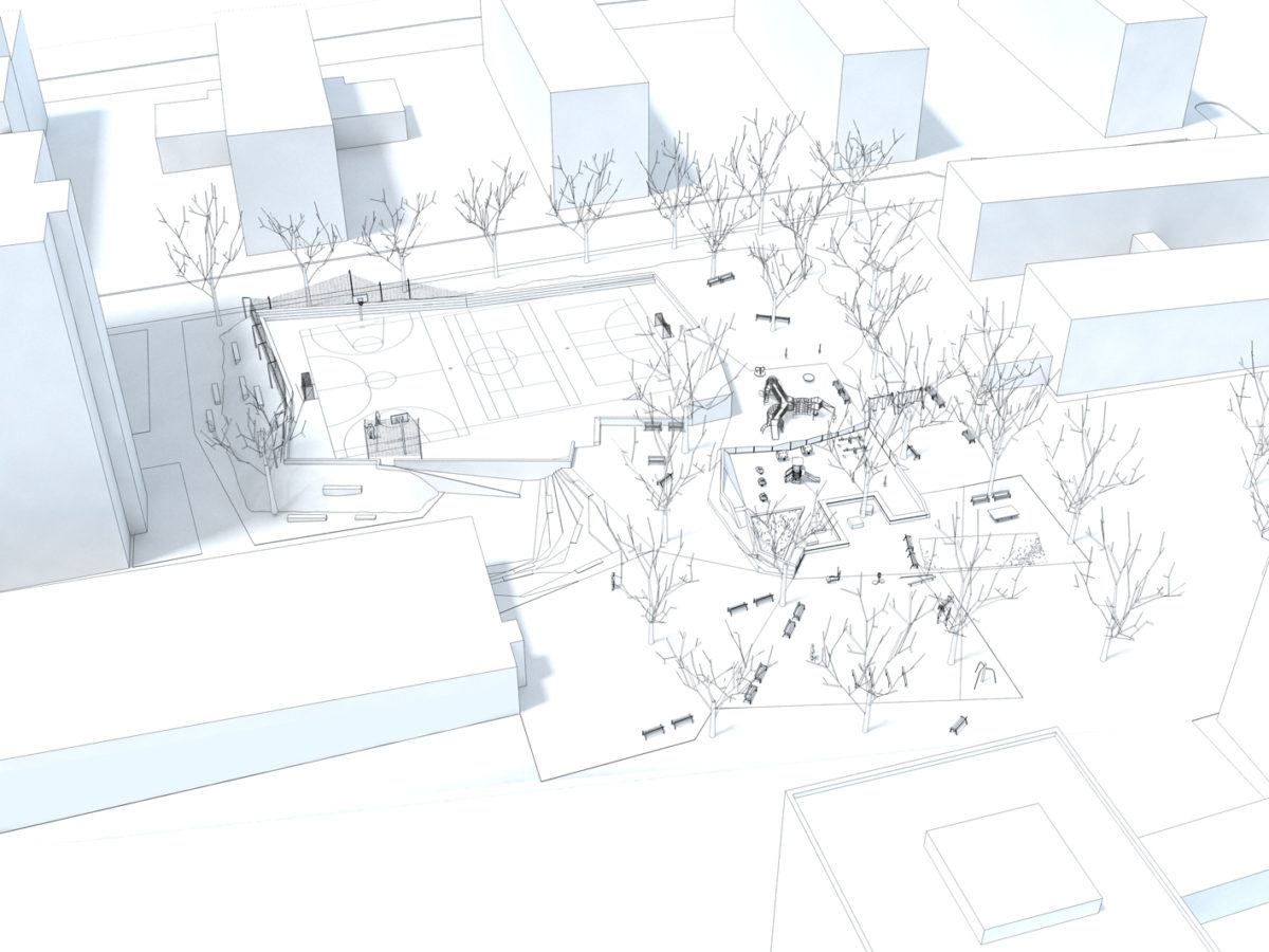 2.prize / Saternus Competition for All Generation Playground
