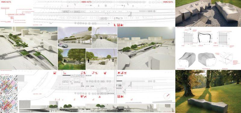 Short list / Bullhorn – Cembrit Design Competition – Suburban railway station