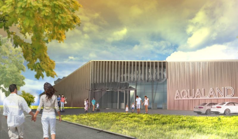 1.prize / Competition fo Extension of the existing aquapark