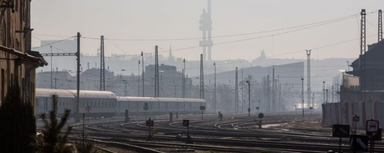 Brownfield at train station Bubny could begin to change in a new district in four years